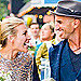 Piper Perabo Wears a Most Unique Gown in Vibrant Wedding Photo