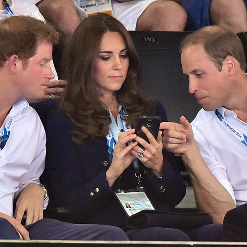 The Duke and Duchess of Cambridge at Commonwealth Games 2014