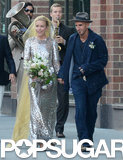 Piper Perabo's Wedding Dress