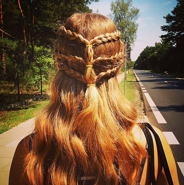 Game of Thrones-Inspired Braided Style