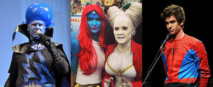 These Stars Aren't Afraid to Geek Out at Comic-Con