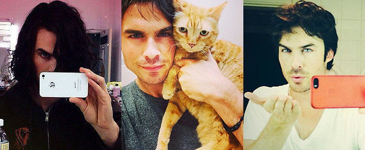 Ian Somerhalder Masters 32 Different Kinds of Selfies