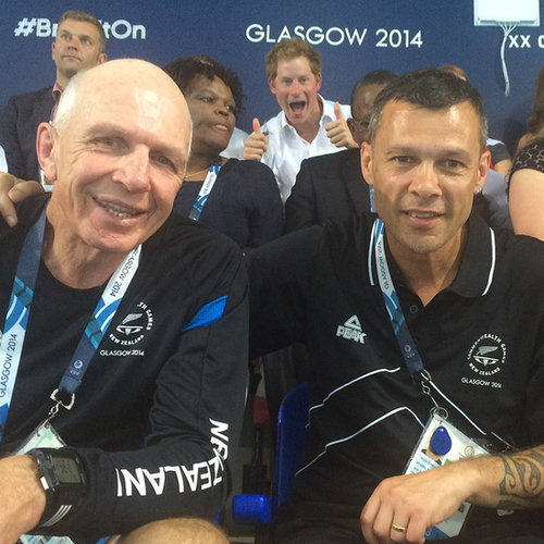 Prince Harry's Photobomb at the Commonwealth Games
