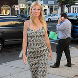 Gwyneth Paltrow and Chris Martin at Hamptons Screening