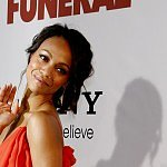 Photos: Zoe Saldana lets her bump do the talking
