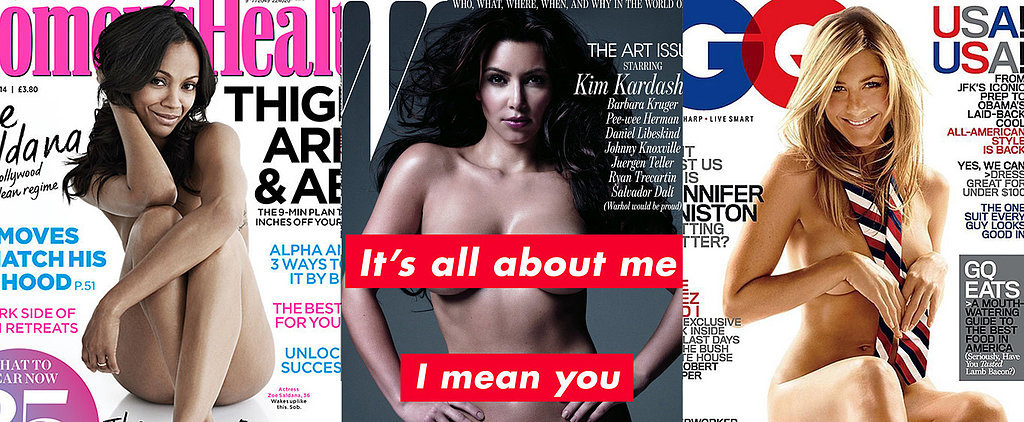 34 of the Hottest Nude Magazine Covers, Hands Down