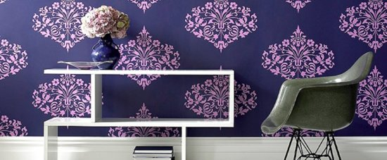 Go Bold With Graphic Wallpaper