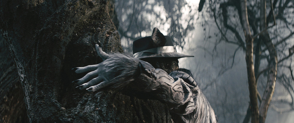 Johnny Depp as The Wolf.<br /><br /><br /><br /><br /><br /><br />