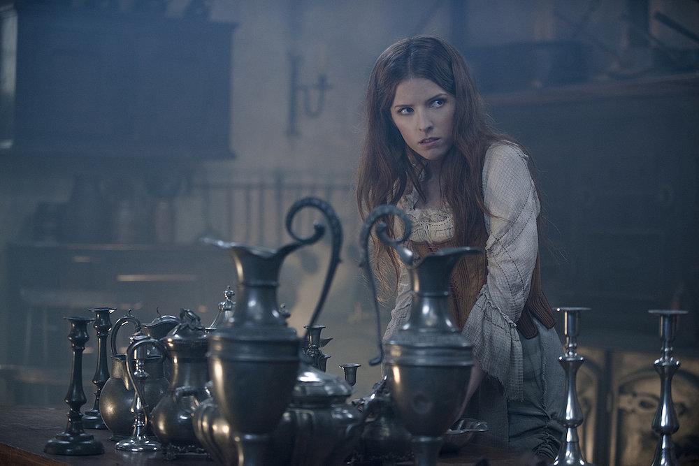 Anna Kendrick as Cinderella.