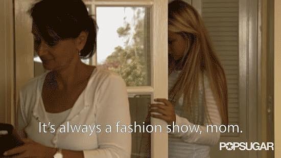 It's Always a Fashion Show