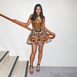 Red Carpet Fashion and Style Pictures of Jessica Gomes