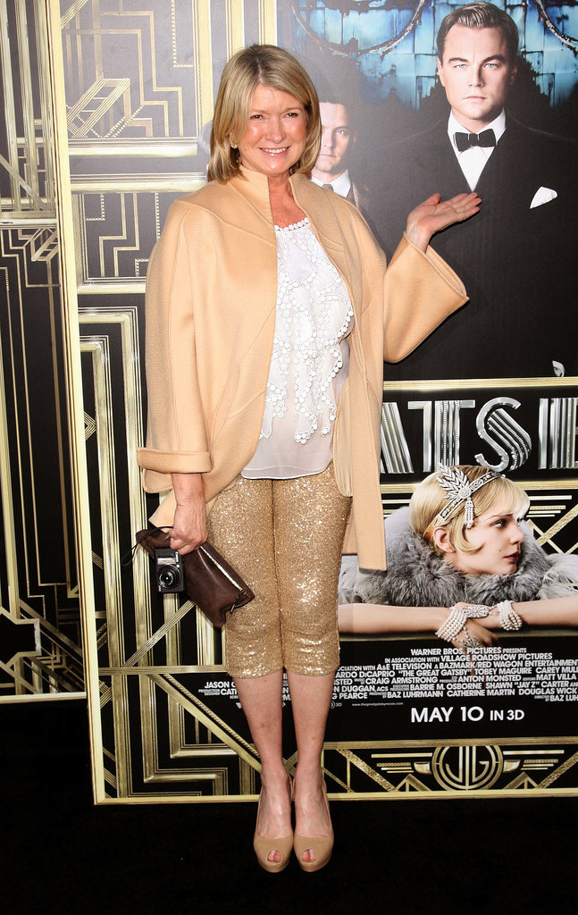4. That Time She Wore Sequined Pedal-Pushers to the Great Gatsby Premiere