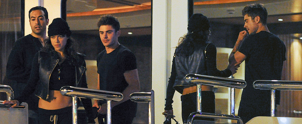 Michelle Rodriguez and Zac Efron Cannot Keep Their Hands Off Each Other