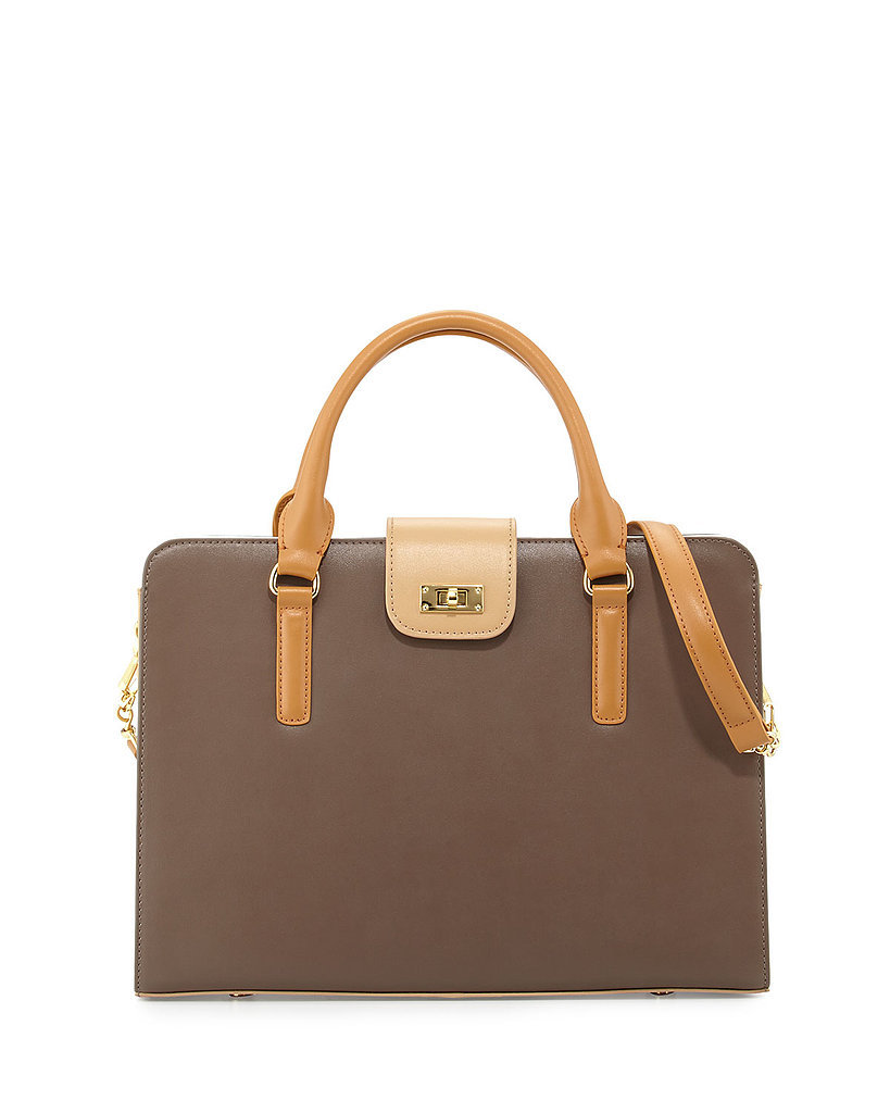 Charles Jourdan Leather Tote Bag