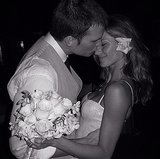 Gisele shared this sweet snap from the couple's 2009 wedding on Instagram for their five year anniversary.