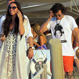 Orlando Bloom With Erica Packer After Justin Bieber Fight