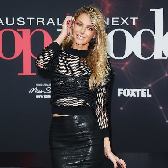 Jennifer Hawkins at Australia's Next Top Model Auditions