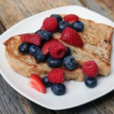 Low-Calorie Vegan French Toast Breakfast Recipe