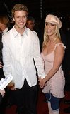 Then-couple Justin Timberlake and Britney Spears walked the red carpet together.