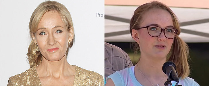 J.K. Rowling Wrote to a 15-Year-Old Shooting Survivor as Dumbledore