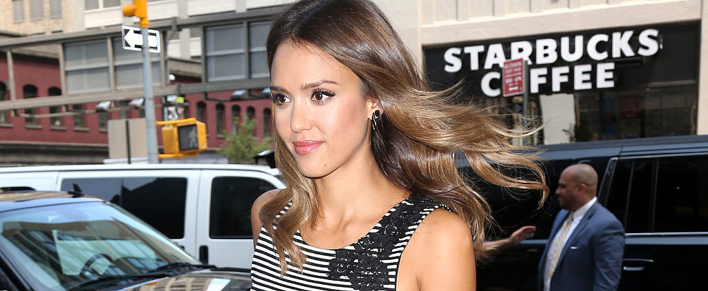 Only Jessica Alba Can Make This Color Combo Look Chic