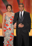 George Clooney at the 2012 Screen Actors Guild Awards