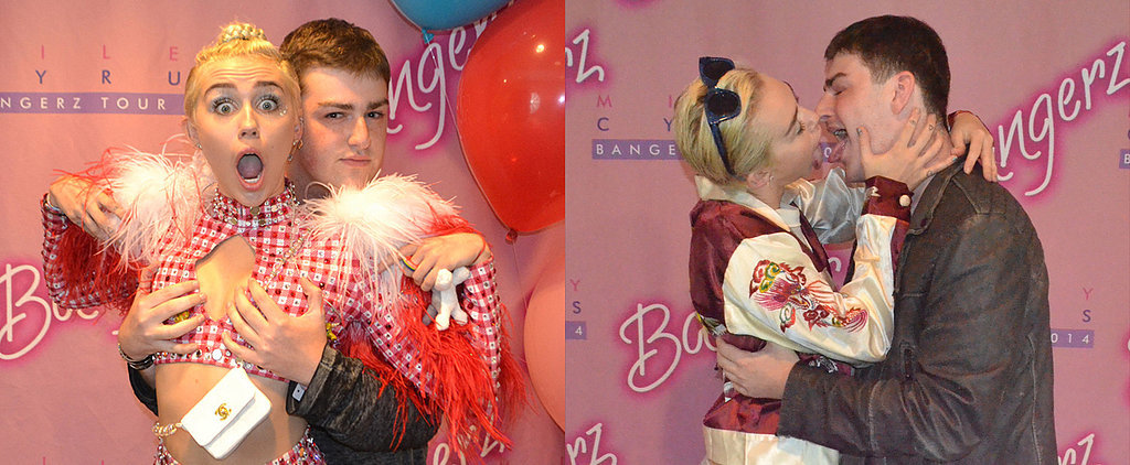 Miley Cyrus Gets More Than a Little Inappropriate With a Fan
