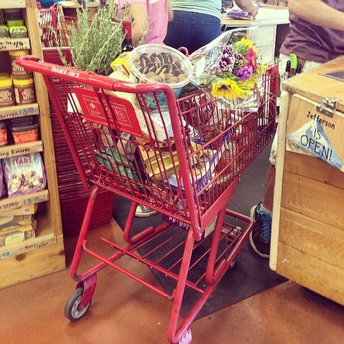 We can fill up the cart without breaking the bank