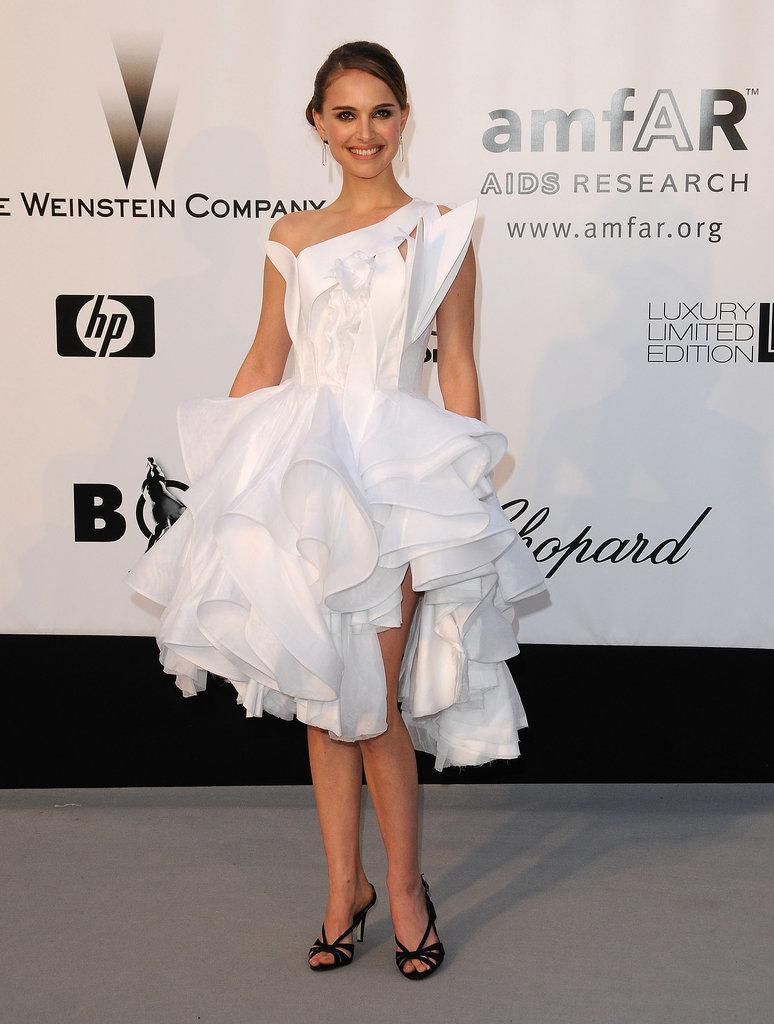 Natalie Portman at the 2008 amfAR Cinema Against AIDS Gala