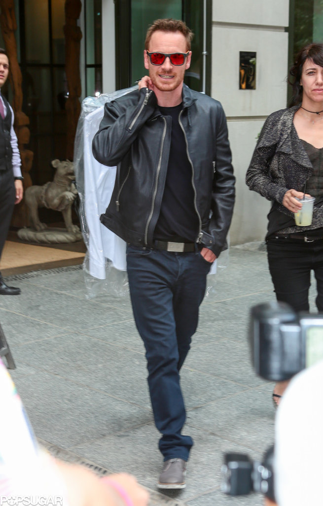 Michael Fassbender stepped out in NYC on Friday.