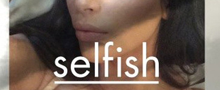 Kim Kardashian Is Releasing a 352-Page Book of Selfies