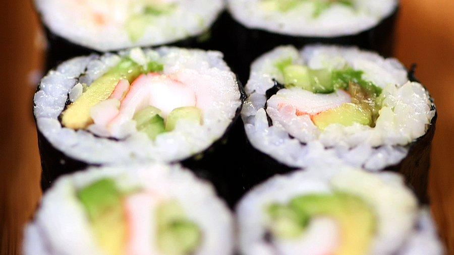 California Sushi Roll   13 Amazing Avocado Recipes   POPSUGAR Food