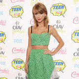 Taylor Swift's Outfit at the Teen Choice Awards
