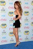 Lea Michele at the Teen Choice Awards