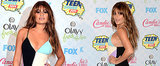 Did Lea Michele Dress to Match Her Surfboard?