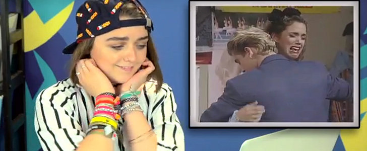 Here's Maisie Williams Hilariously Watching Saved by the Bell For the First Time