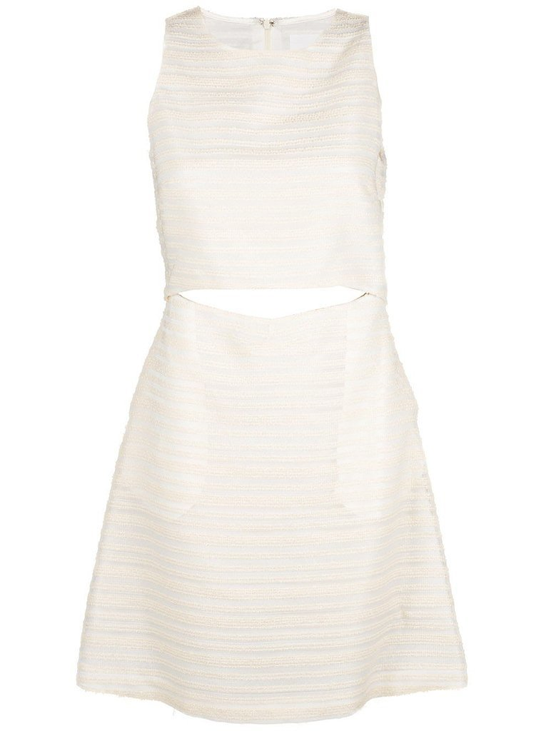 Thakoon Addition Cutout Dress + J.Crew Collection Striped Sweater