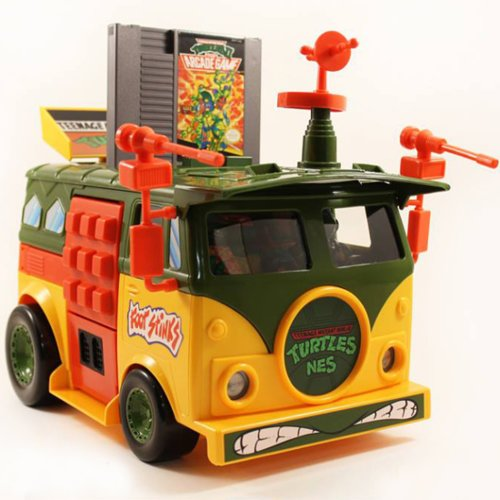 Teenage Mutant Ninja Turtle Party Wagon NES