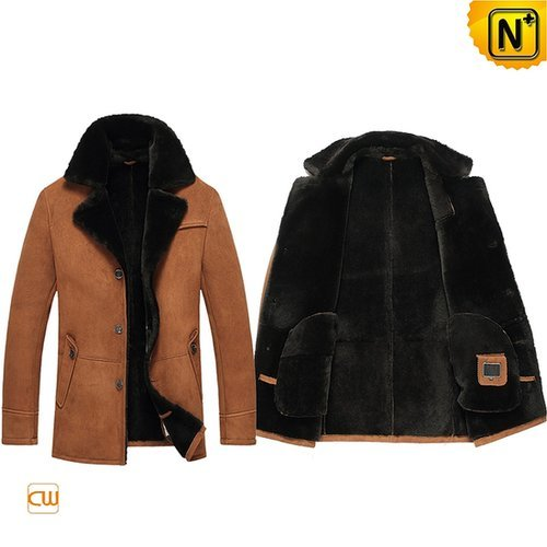 Mens Shearling Jacket Coat CW851255