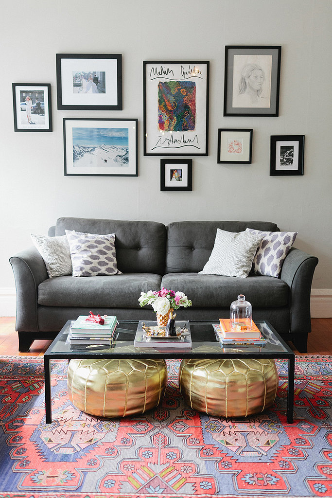 First apartment decorating ideas popsugar home - Simple living room decor ideas and tips ...