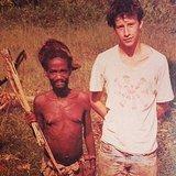 """Me in Zaire in 1985 when I was 17 and driving across Sub-Saharan Africa,"" Anderson captioned this. Source: Instagram user andersoncooper"