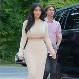 Kim Kardashian's Nude Dress