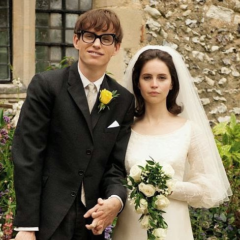 Stephen Hawking Wedding Photo With Eddie Redmayne