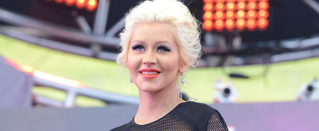 Christina Aguilera Reveals Her New Baby Girl's Name!