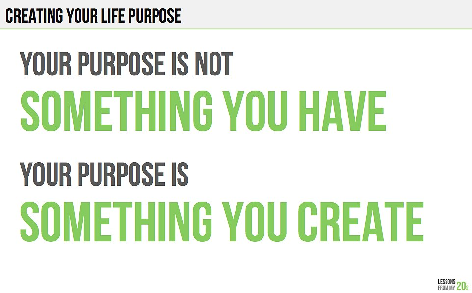 This Is What Finding Your Purpose Is All About