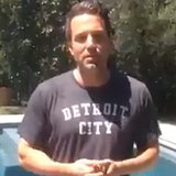 Video of Ben Affleck Doing ALS Ice Bucket Challenge