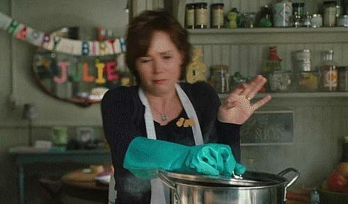 As Julie Powell in Julie and Julia (2009)