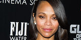 Zoe Saldana Finally Confirms Her Pregnancy During Ice Bucket Challenge