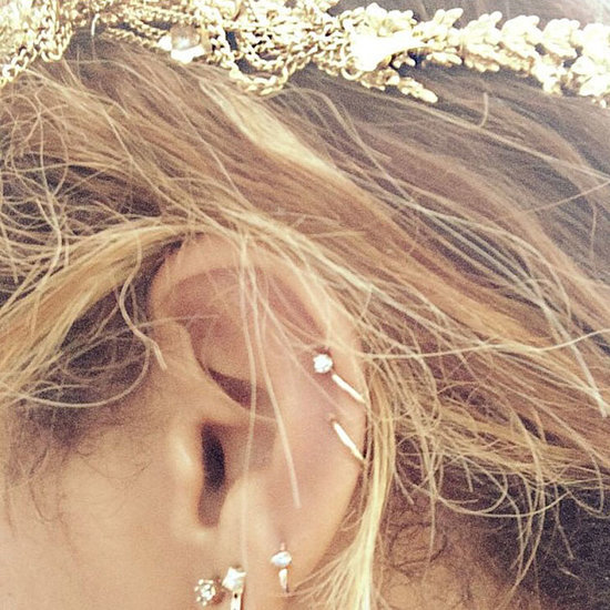 Ear Piercing Inspiration Beyonce and Nicole Ritchie