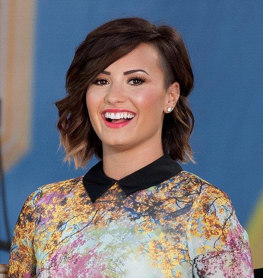 Demi Lovato Shocks Us by Returning to Brunette